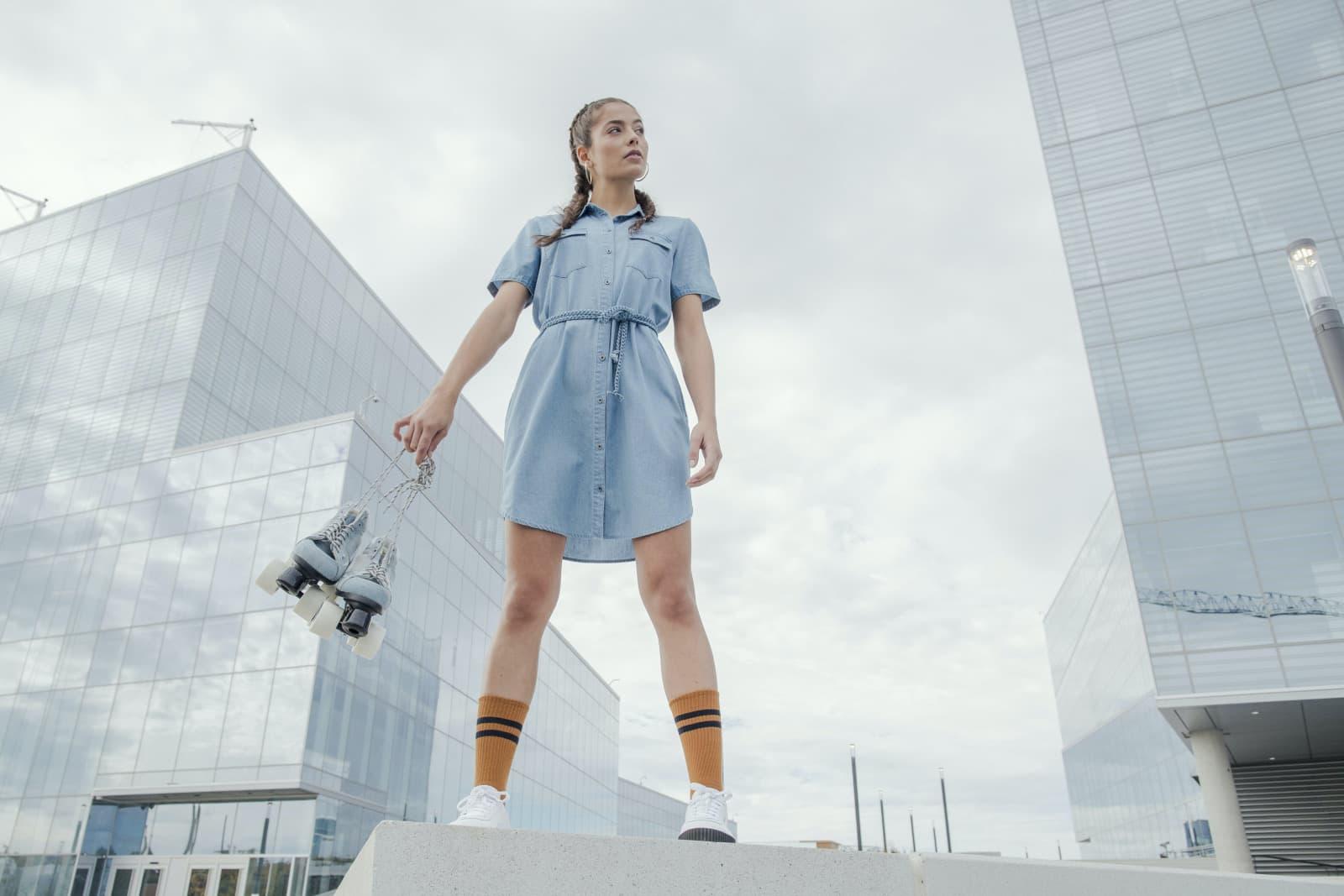 rollerblade studio photo production intersport modeling sport